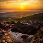 Edinburgh, travel, landscape, Arthur's Seat, sunrise
