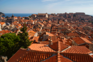 Dubrovnik tilt-shift