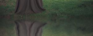 Close up of water seam