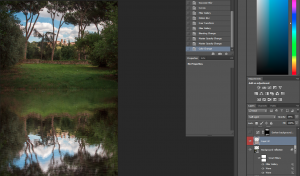 Change blending mode of other noise layer to soft light
