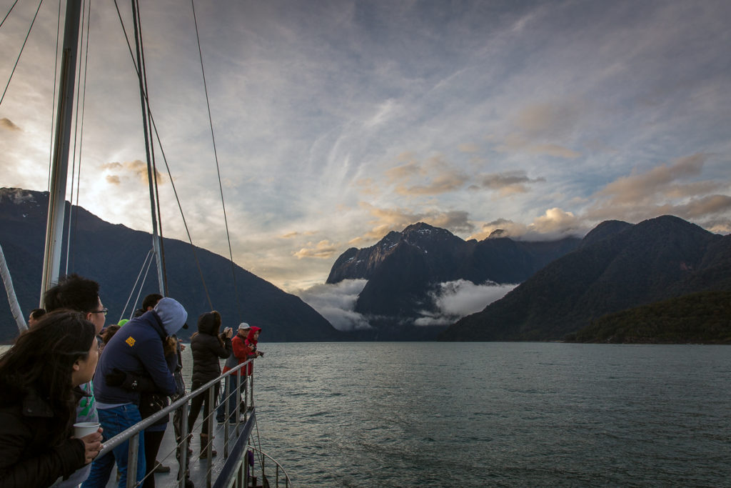 milford sound, real journeys