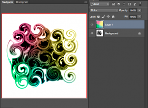 Use a Color blending mode to add colour by hand
