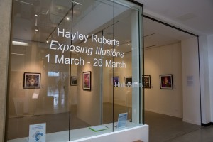 My exhibition at the Hub Gallery, Caboolture