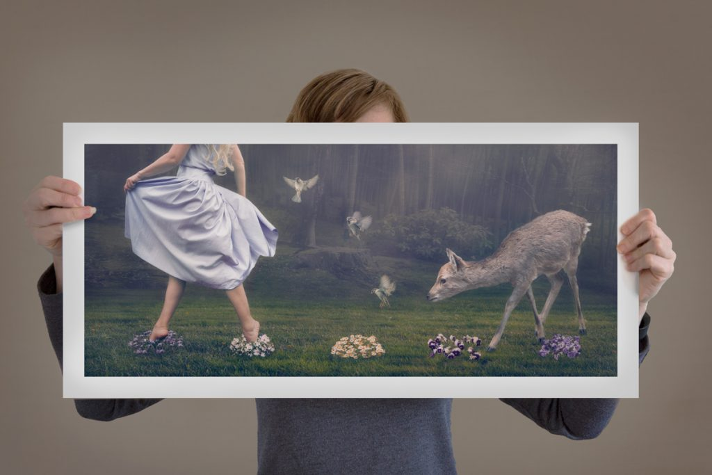 Where She Wanders print by Hayley Roberts Photography