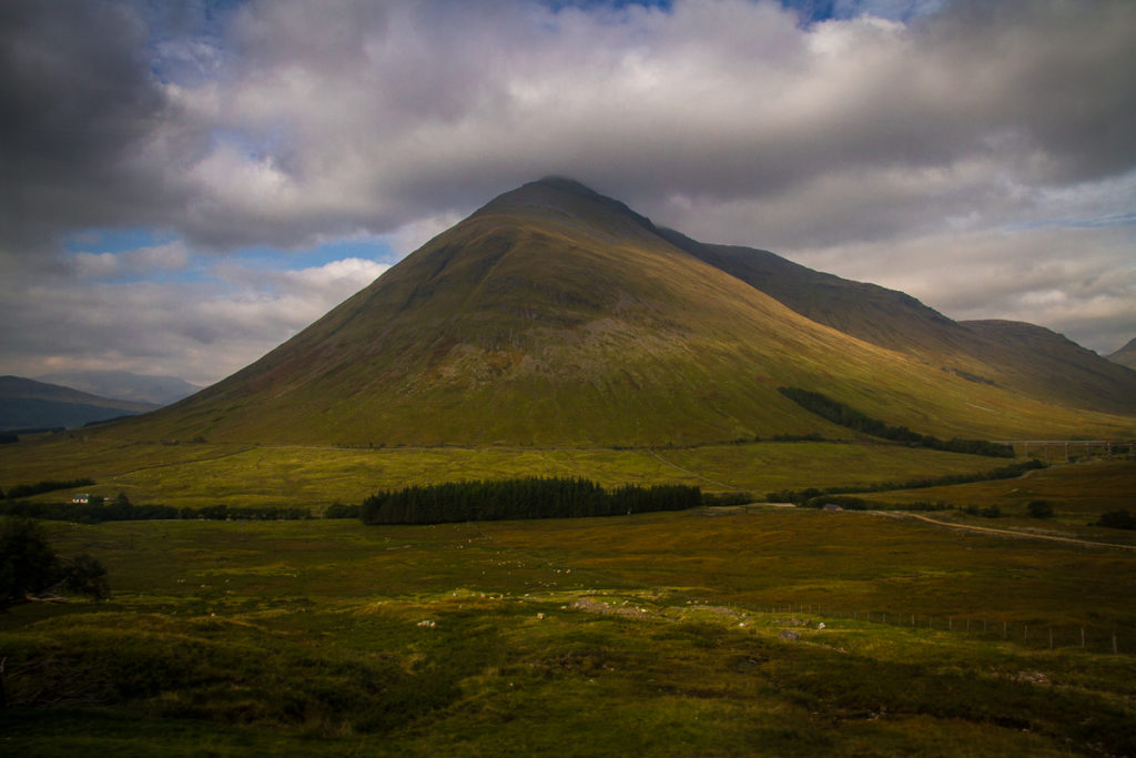 Mountain in Scotland
