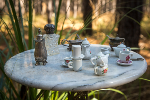 Alice in Wonderland, tea, miniature, photography, photoshoot