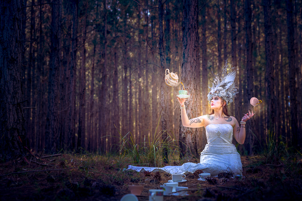 alice in wonderland, photoshoot, photography, tea, magic
