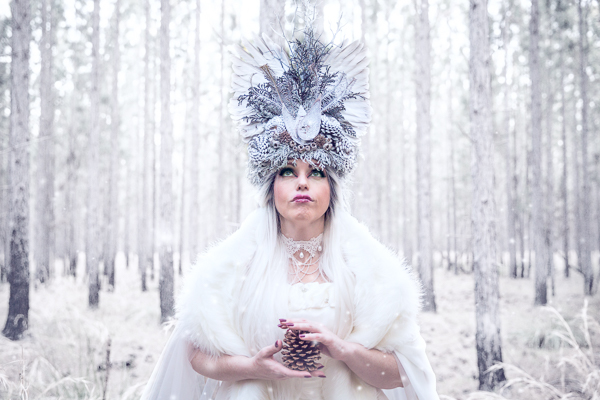 alice in wonderland, photoshoot, photography, snow queen